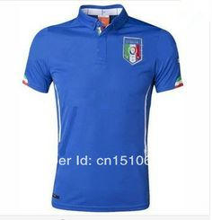 50a4cc5ae Top a + + + Thai version of the 2014 World Cup in Italy jersey football