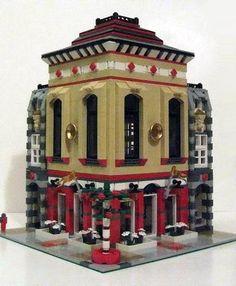 lego modular building - holiday restaurant