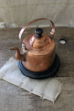 little copper kettle