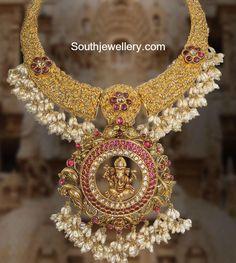 antique_pearls_necklace_ganesh_pendant.jpg (1022×1142)