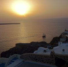 Our Oia sunset