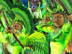 Mangueira Carro alegórico Carnaval 2012 Sambódromo Rio de Janeiro Carnival Carioca Brazil Brasil samba Marquês de Sapucaí by SeLuSaVa, via Flickr
