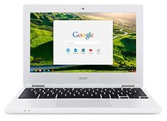 From 99.99:Acer Chromebook 11.6 Inches Laptop Cb3-131 Intel Celeron N2840 2 Gb  16gb Emmc Chrome  White
