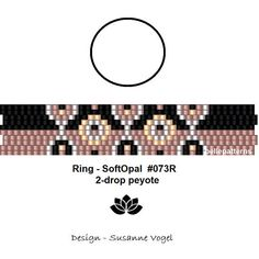 peyote ring patternPDF-Download 073R-2d 2 drop peyote