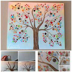 Zelf simpele en toch mooie kunst maken voor in huis? Bekijk hier hele gave ideetjes…