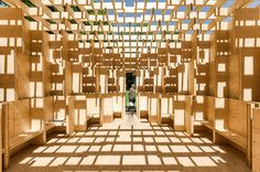 Stefan Tuchila is a professional architectural photographer from Romania. He spent the opening days of the 2016 Venice Architecture Biennale capturing compel...