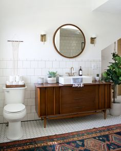 Vintage Bathroom Reveal Modern Vintage Bathroom Makeover Love it! checkout for home decor up to OFF!Modern Vintage Bathroom Makeover Love it! checkout for home decor up to OFF! Bad Inspiration, Bathroom Inspiration, Home Decor Inspiration, Decor Ideas, Decorating Ideas, Decorating Bedrooms, Decor Diy, Bathroom Renos, Bathroom Interior