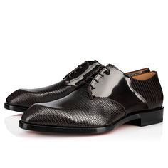 Christian Louboutin United States Official Online Boutique - A Mon Homme Testa Di Moro Leather available online. Discover more Men Shoes by Christian Louboutin Men's Shoes, Dress Shoes, Shoes Style, Christian Louboutin Heels, Louboutin Shoes, Red Sole, Formal Shoes, Online Boutiques, Leather Men