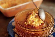 Kijk wat een lekker recept ik heb gevonden op Allerhande! Gebakken rijstpudding met saffraan