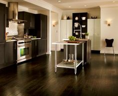 Your dinner guests will be delighted no matter what you are cooking up in the kitchen. From solid hardwood to laminate, you can trust that Armstrong will offer you flooring choices that accommodate your tastes, your lifestyle and your budget.