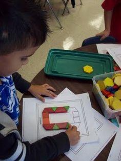 Math center idea