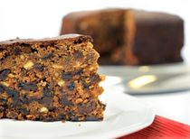 Traditional Rich Fruit Cake Recipe:The success of this deliciously rich, moist cake lies in soaking the dried mixed fruits in strong dark tea the evening before; the tea adds a subtle depth of flavor to the cake. For this reason you will need a little advance planning to allow time to soak the fruits. It is worth it though so don't be put off.