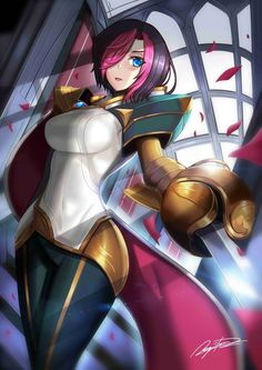 Reworked Fiora [League of Legends]