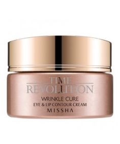 Time Revolution Wrinkle Cure Eye & Lip Contour Cream - 25ml