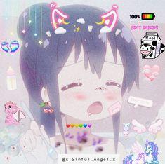 Cute Anime Pics, I Love Anime, Kawaii Anime Girl, Anime Art Girl, Anime Girl Crying, Cute Cat Wallpaper, Anime Expressions, Gothic Anime, Cute Anime Character