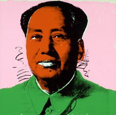Mao by Andy Warhol. Warhol Limited Edition Prints for sale/auction. Buy Pop Art, Original Paintings at Gallery Warhol Collection. Andy Warhol Pop Art, Andy Warhol Bilder, Andy Warhol Portraits, Online Katalog, Mona Lisa, Banksy Art, Graffiti Art, Alexander The Great, Celebrity Portraits