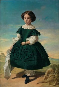 a9a0c8ed6 Retrato de niña - Colección - Museo Nacional del Prado Retratos De Niños