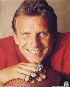 SF 49ers Joe Montana  My Favorite 49er of all time!!!   And #16 to boot... The best number!!!
