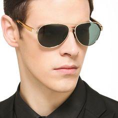 8a6f0bd0a0 COOLSIR Retro Sunglasses Men Polarized Polit Men Sunglasses Vintage Eyewear  Accessories Male Top Quality