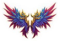16款超炫翅膀素材编号19 - 传奇素材... Rooster, Templates, Design, Stencils, Vorlage, Models, Chicken