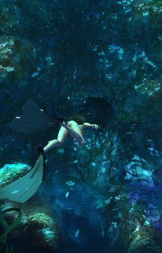 Deep swim