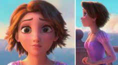 get a hair cut like Rapunzel's !