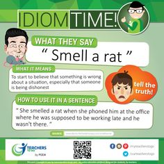 Did you literally smell a rat when your friend used it in a sentence? Lack of knowledge on your essay? Build your vocabulary with us @ www.teachers-to-go.com