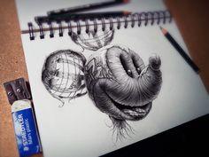 Art • Distroy Series, Illustration (PEZ)