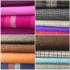 Bright, bold and brilliant. Three words to describe the cloth over at Harris Tweed HQ today. We love it all!