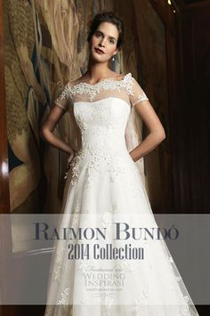 http://weddinginspirasi.com/2013/08/16/raimon-bundo-2014-wedding-dresses/  Raimon Bundó 2014 Wedding Dresses  #weddings #weddingdress #bridal