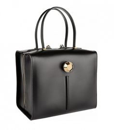 Christopher Kane Leather Tote in Black