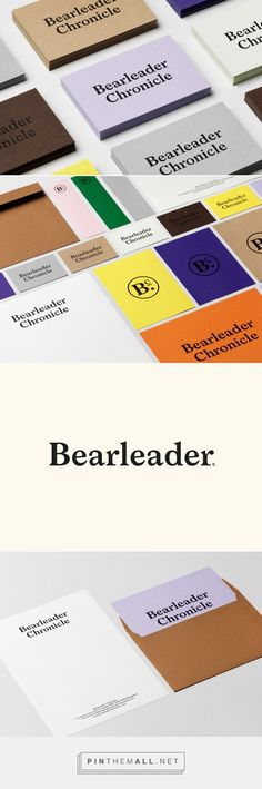 New Logo for Bearleader Chronicle by The Studio — BP&O... - a grouped images picture - Pin Them All