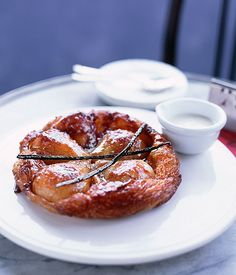 Pear tarte Tatin :: Gourmet Traveller