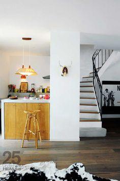 Cliquez ici pour découvrir la maison de la créatrice de Sessun, Emma François. Un style retro très chaleureux.