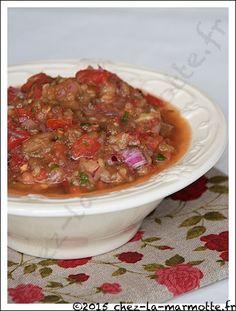 Salade d'aubergines libanaise (Baba Ghannouj) | Marmotte cuisine !