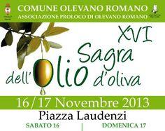 XVI^ Sagra dell'Olio d'Oliva @Olevano_Romano
