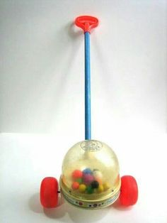 Remember Retro: Fisher Price Popper ( was there a name for this? I can't hear that thing popping now! Retro Toys, Vintage Toys, Retro Vintage, 1950s Toys, Retro Baby, Vintage Games, Vintage Decor, 90s Childhood, My Childhood Memories