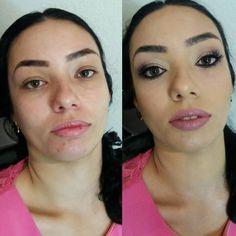 Antes e Depois da linda Luciene  ! Gostaram?! Agende seu horário através do Whatsapp (12)981034707