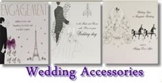 Your wedding day! The most important day of your life!. So why not add a bit of sparkle and magic to your special wedding day. I want to show you some examples of wedding accessories From Top UK cards designers Five Dollar Shake they are based in Sussex England. They have now been making handmade cards for over 6 years. UK Greeting Cards takes it very seriously that's why all our wedding stationery is of the highest in quality.    For example our wedding day cards have Swarovski crystals and…