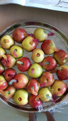 Appel met worm