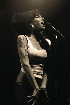 Amy Winehouse Live Poster