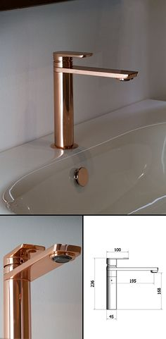 <span style='color: #000000;'>Copper Basin Mixer (35AA)</span>