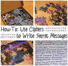 Writing Secret Messages Using Ciphers, this would be great to do within at troop or maybe once with a pen pal...