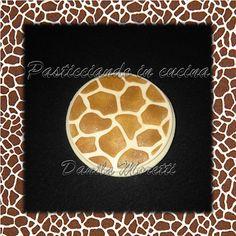 Cookie decorated - Biscotto decorato - Giraffa - Giraffe