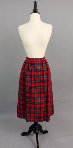 8d2c48c919319 16 Best Plaid Wool Skirt Oufits images