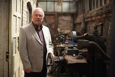 Silversmith Tony Evans, the grandson of the founder of JW Evans silver workshop, poses inside the factory on May 19, 2011 in Birmingham, England. In 2008 English Heritage stepped in to save the workshops of silversmiths JW Evans in Birmingham's jewellery Quarter to preserve the industrial heritage of tools, machinery, dies, stamps, pattern books, archives and order books from being lost forever. After extensive conservation work leaving its contents untouched the workshops are now open