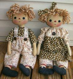 Raggedy Twins $4.75
