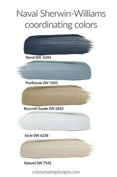 Exterior Paint Colors, Exterior House Colors, Paint Colors For Home, Coastal Paint Colors, Exterior Color Palette, Paint Colours, Exterior Design, Paint Color Schemes, Living Room Color Schemes