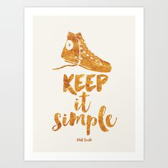 quote, quotes art print, Will Smith, Converse, wall decor, motivational, inspirational, succes