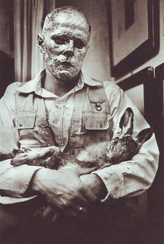 Joseph Beuys - How to Explain Pictures to a Dead Hare